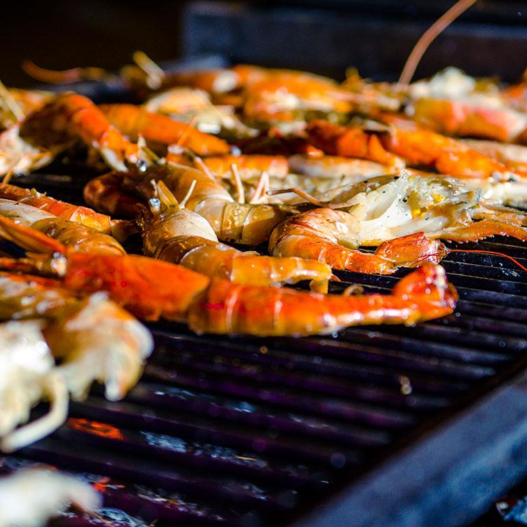 Friday Dinner At Le Bazar Restaurant - Seafood Night