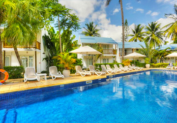 Cocotiers Hotel Day Pass with Optional Soft All Inclusive