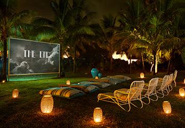 LUX* Grand Gaube Resort & Villas – Open-Air Cinema Paradiso at Banyan