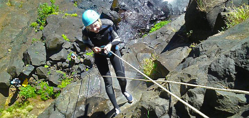 Canyoning Adventure at Tamarind Falls