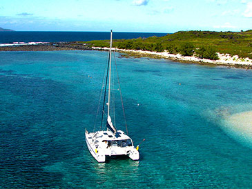 Catamaran Cruise to Flat Island (All Inclusive)