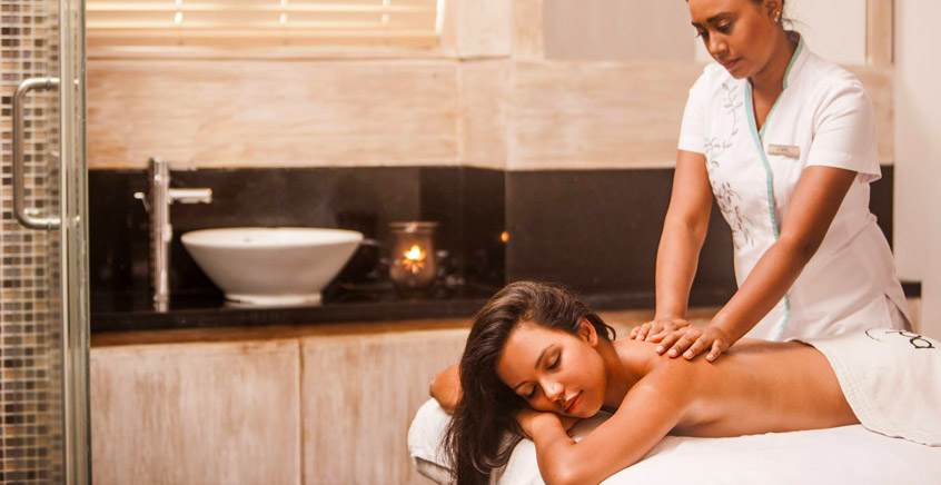 Back Massage Treatment Offer at Le Suffren Hotel