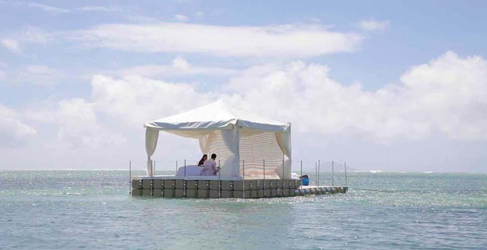 Private & Romantic Couple Spa Massage at Sea