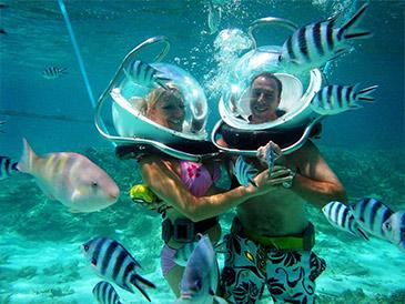 Undersea Walk – Belle Mare