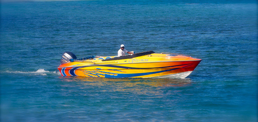 Exclusive Private Speed Boat To Ile Aux Cerfs