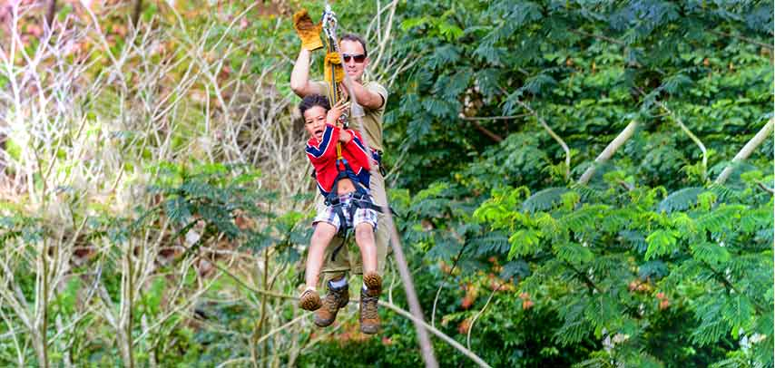 Family Adventure at Domaine De Chazal – Nature Discovery, Ziplining & optional Lunch