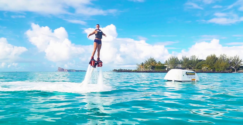 Fly Like Iron Man N' Dive Like A Dolphin – Beginners Tandem Flyboard Mauritius