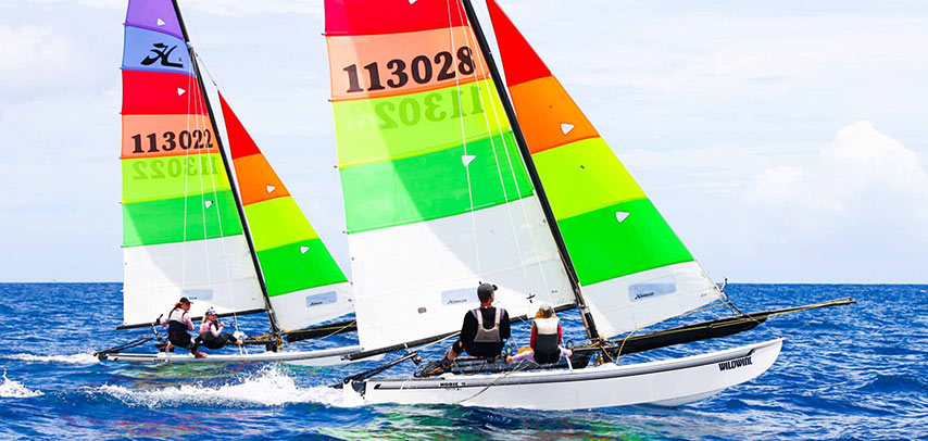 60-Minute Hobie Cat Sailing Experience