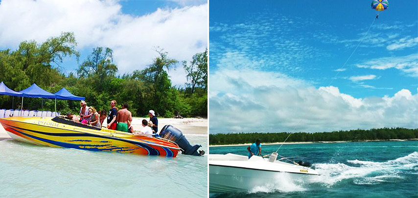 Ile Aux Cerfs Thrilling Day Package