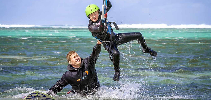 Kitesurf – Bel Ombre / Belle Mare