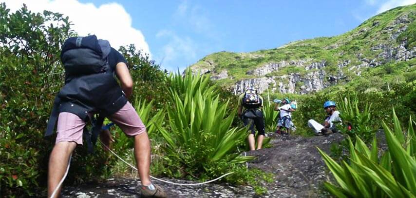 Le Pouce Mountain Hiking Trip