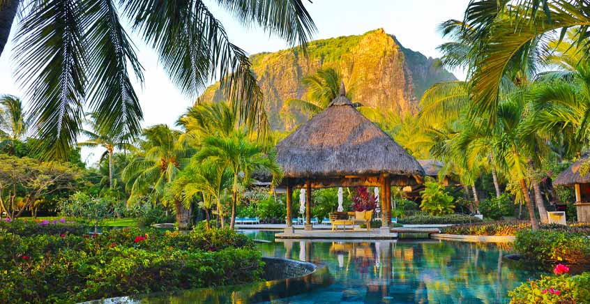 Open-Air Cinema at LUX* Le Morne Resort