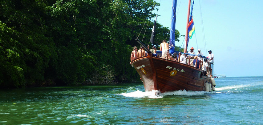 Pirate Boat Cruise to Ile Aux Cerfs Island