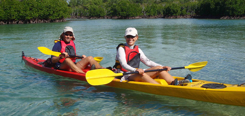 Sea Kayak Adventure – Ile d'Ambre