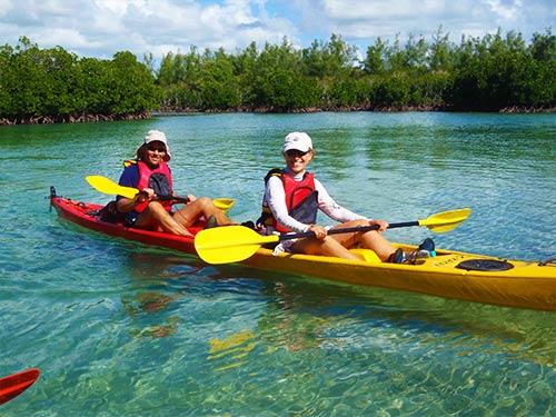 Sea Kayak Adventure – Ile d'Ambre