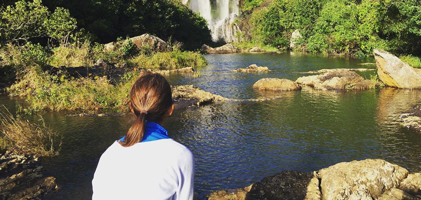 Hiking Trip at Tamarind Falls (5 Waterfalls)