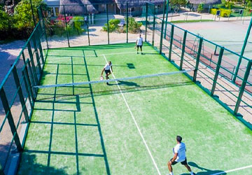 Tennis at LUX* Grand Gaube Resort & Villas