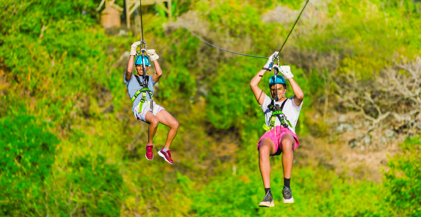 Trio Thrill Package at Casela Nature Park