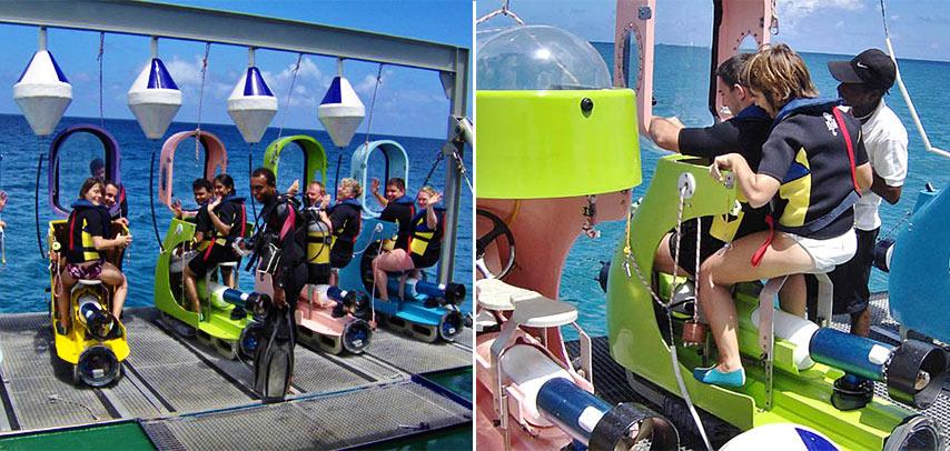 Submarine & Underwater Scooter – Underwater Experience