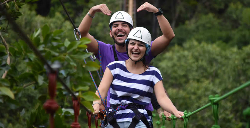 Via Ferrata Adventure at Lavilleon Adventure Park