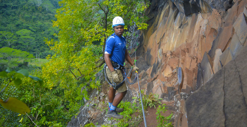 Via Ferrata Adventure at Lavilleon Natural Forest