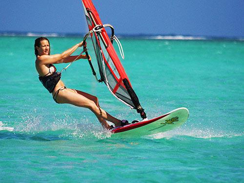 Windsurf Beginner Lesson at Mont Choisy