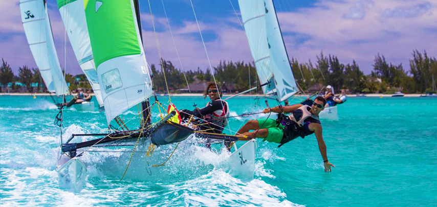 Windsurf Beginner Lesson at Mont Choisy