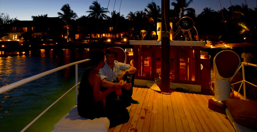 Romantic Dinner Cruise on board the M/S Lady Lisbeth
