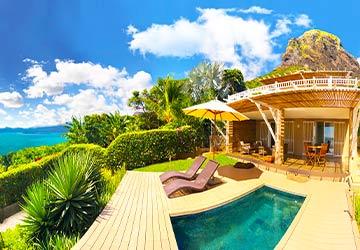 Kozy Le Morne – Sea View Villa