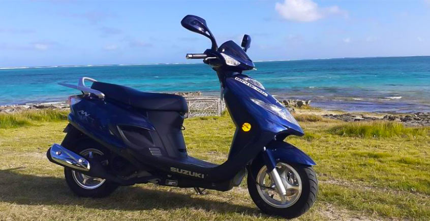 Scooter Rentals in Rodrigues