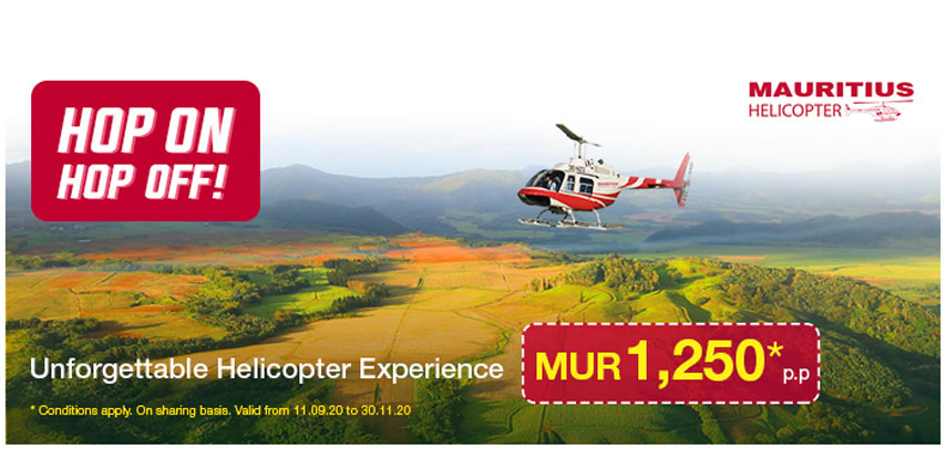 Hop On Hop Off – Helicopter Experience Flight