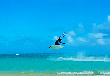 Kitesurfing Lessons in Rodrigues