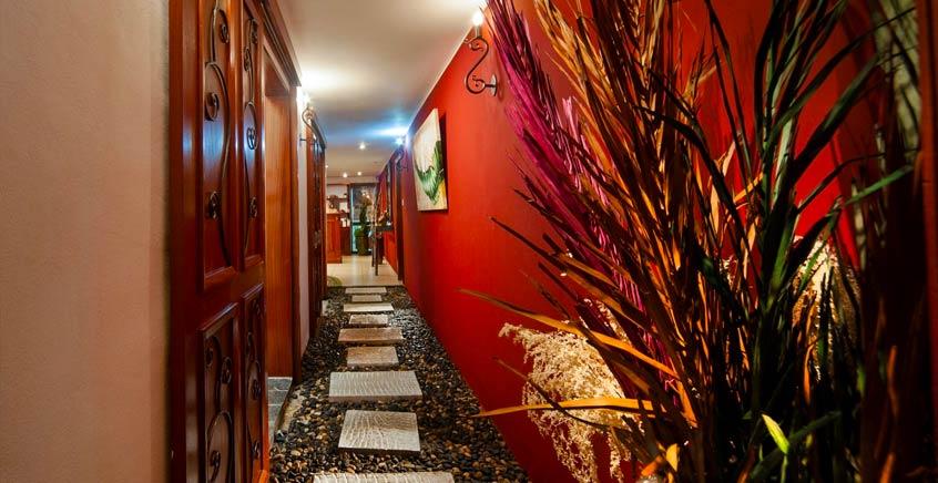 Shanti Massage + Free Sauna at Le Palmiste Spa