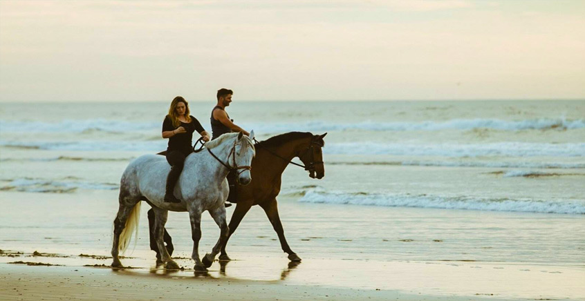 1-Hour Horse Riding on Belle Mare Beach