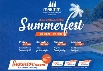 Maritim Crystals Beach All-Inclusive Summerfest