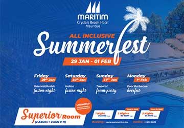 Maritim Crystals Beach All-Inclusive Summerfest
