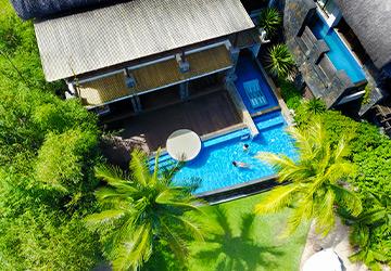 Imperial Beach Pool Villa | Angsana Balaclava Mauritius