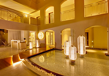 De-stressing Back Massage + Natural Facial + Sauna at I Spa – The Address Boutique Hotel
