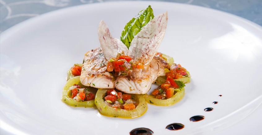 Gastronomic Seafood Dinner at La Table du Château Restaurant