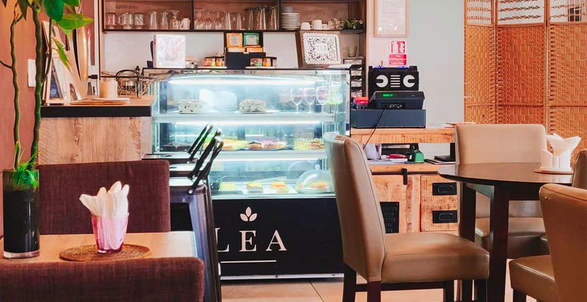 Discount Lunch or Dinner Voucher at Lea Cafe