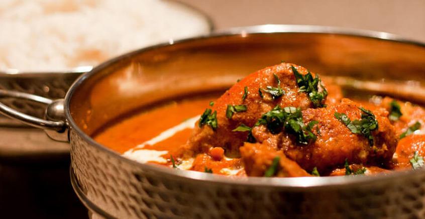 Royal Indian Lunch at Namaste Restaurant