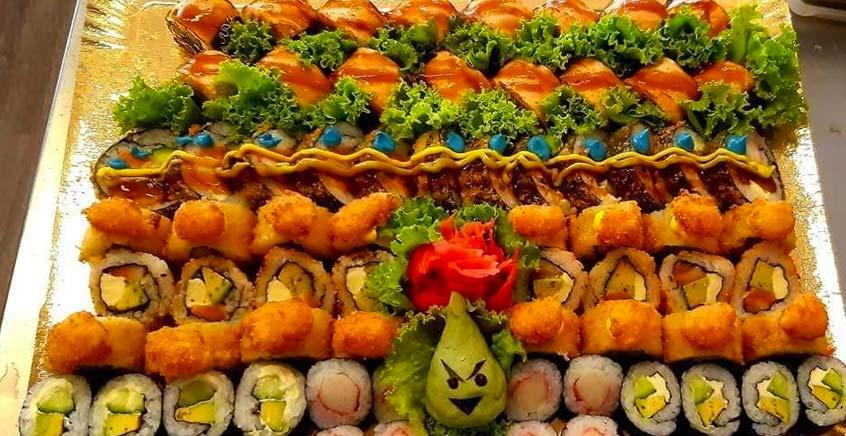 Sushi Platter at Sapora Japanese Restaurant