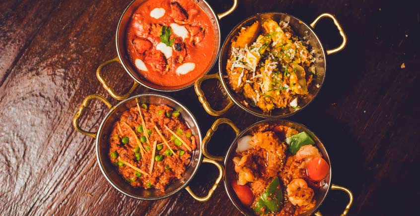 Indian Lunch or Dinner at Indra Domaine Les Pailles Restaurant