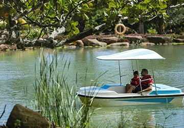 Family Fun Day with Water Activities at Le Parc Loisirs de Gros Cailloux