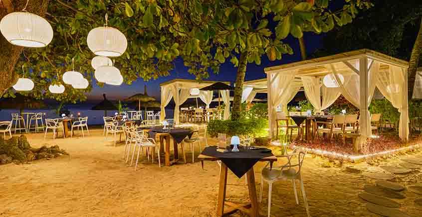 Gourmet Dinner at La Plage by Evaco
