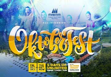 Oktoberfest 2021 at Maritim Crystals Beach Hotel